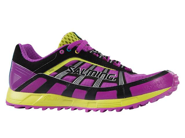 Salming W's Trail T1 Shoes Purple Cactus Flower